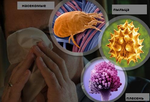 алергічний риніт і соплі в носоглотці