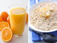 Вівсянка з апельсиновим соком