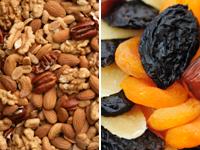 Сухофрукти з арахісом