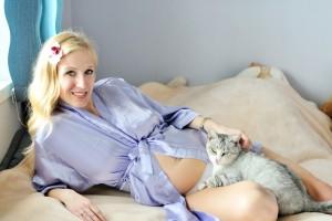 Вагітність и кішка в домі
