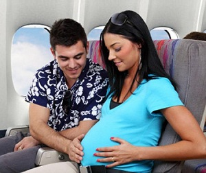 можна літати на літаку під час вагітності
