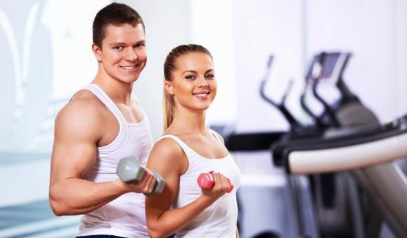 фізичні вправи і сіпання повік