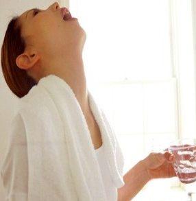 Полоскання горла в період вагітності
