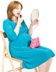 Який макіяж може дозволити собі майбутня мама?