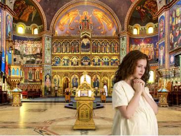 Чи можна вагітним жінкам ходити до церкви і бути хрещеними