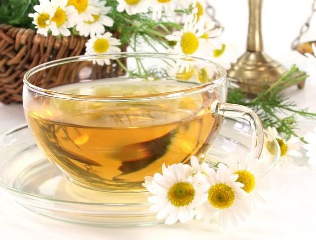 ромашковый чай от зуда глаз
