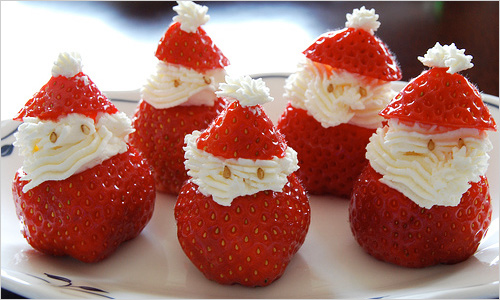 Новорічні фруктові десерти