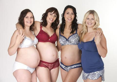 віді білизни для вагітних