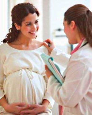 токсикозу при вагітності немає