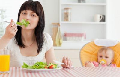 раціон харчування годуючої матері