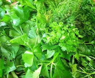 зелень при вагітності