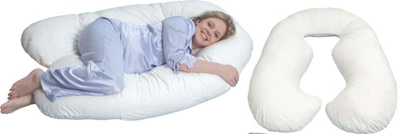 U-подібна подушка для вагітних