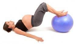Вправи при болях в кістках під час вагітності